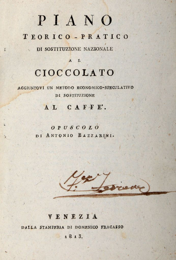 chocolate substitution booklet